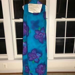 Mlle Gabrielle Blue Maxi Dress Sz 16